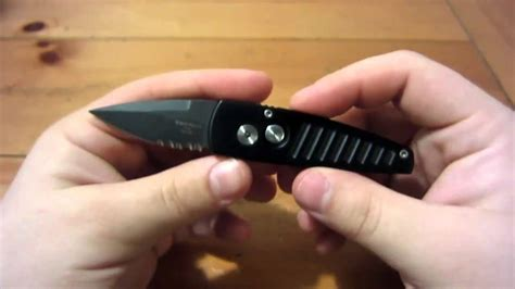 Knife Review : Protech Stinger (401PSBT) (Small Automatic
