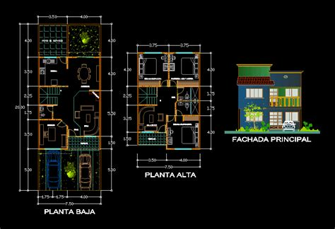 Home in AutoCAD | Download CAD free (401