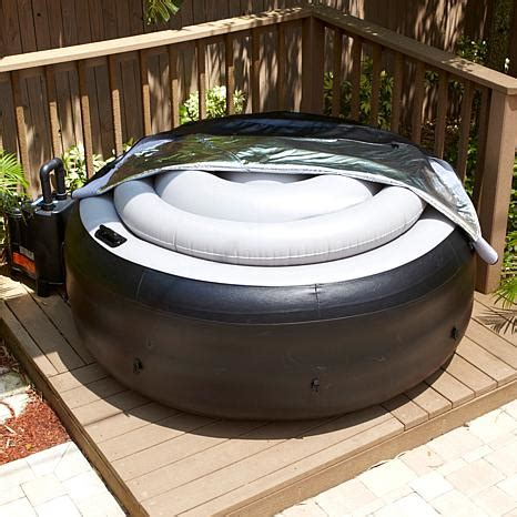 EZ Spa Portable Hot Tub with Cover | HSN