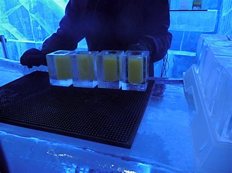 Absolut Icebar Stockholm Review - Drink of the Week