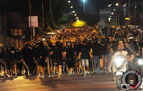 Riots in Greece during Aris fans protest 31
