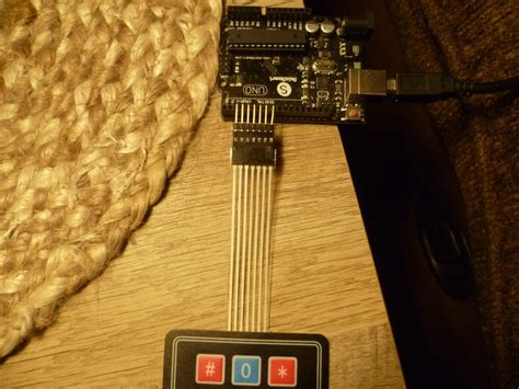 Arduino Your Home & Environment: Using a 3x4 Keypad