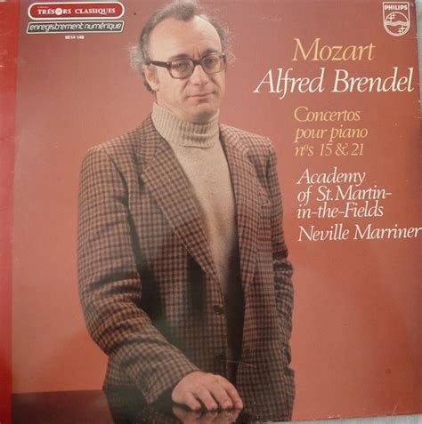 Wolfgang Amadeus Mozart – Alfred Brendel, The Academy Of
