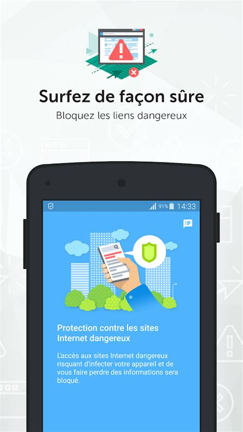 Kaspersky Antivirus & Security - Applications Android sur
