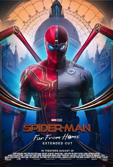 Spider-Man: Far From Home Extended Cut Poster Released