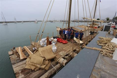 Kon-Tiki Revisited: A New Attempt to Sail Rafts Across the