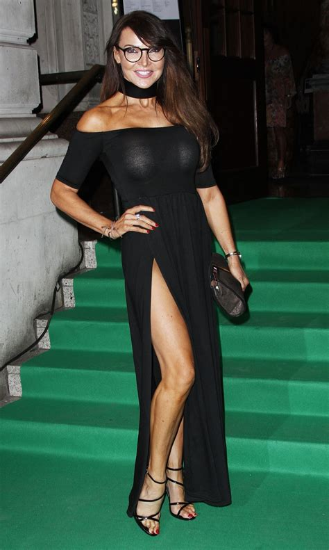 LIZZIE CUNDY at Specsaver's Spectacle Wearer of the Year