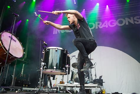 Imagine Dragons With Big Drums | Artist Pictures Blog
