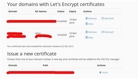 Install Let's Encrypt for cPanel - NixTree