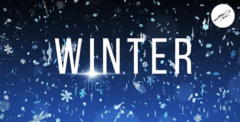 22 Cool After Effects Templates For Winter Effects