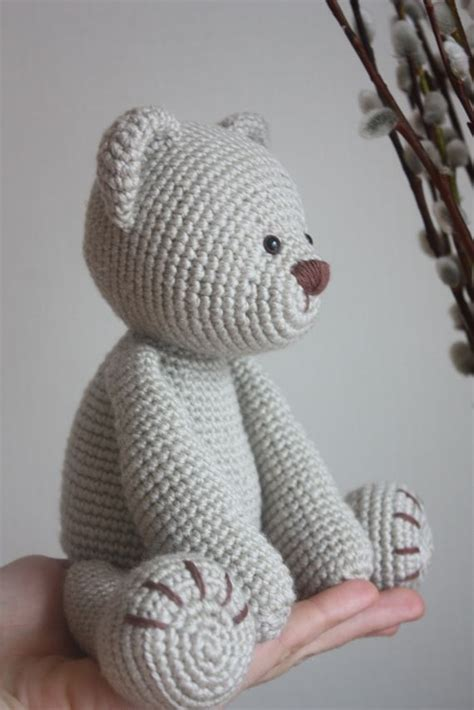 New Teddy Bear PDF Patter: Lucas the Teddy I have made one