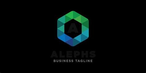 Alephs Logo Template by Graphic23   Codester