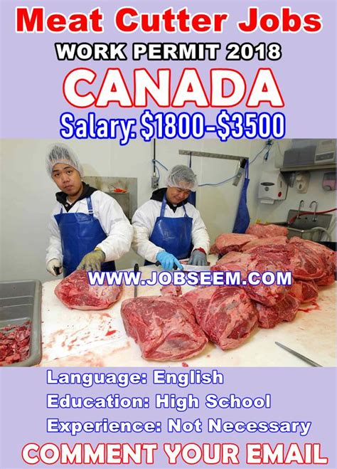 Meat Cutter Jobs in Canada for Foreigners | 100+ Butcher
