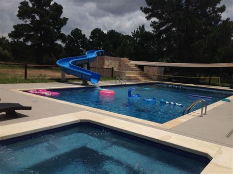 Water Slides for residential pools! | Residential pool