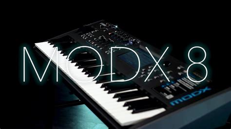 Yamaha MODX 8 Synthesiser Overview   Gear4music Overview
