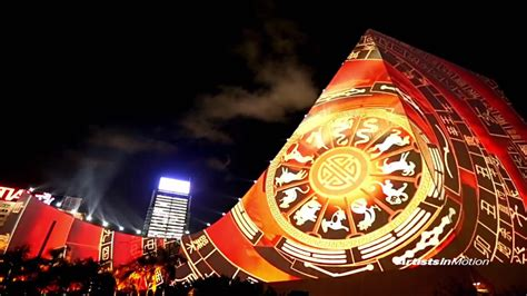 Pulse 3D Light Show - Chinese New Year 2016 | Taylor Film