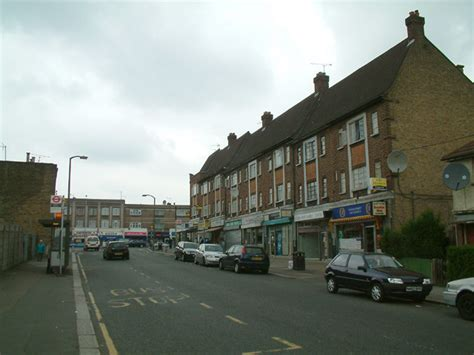 File:Local shops, Enfield Highway - geograph