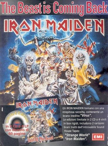 Best Of The Beast - Maiden France