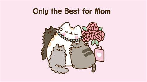 Pusheen: Only the Best for Mom - YouTube