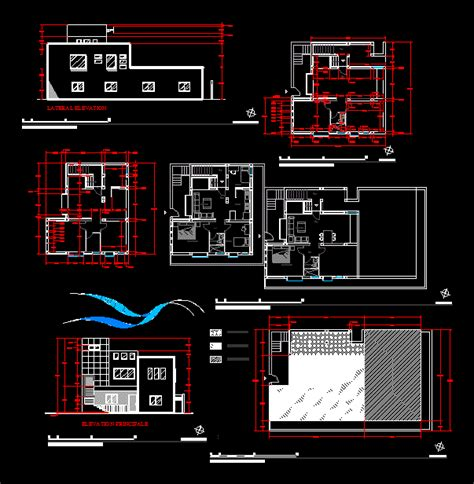 Small apartment in AutoCAD | Download CAD free (570