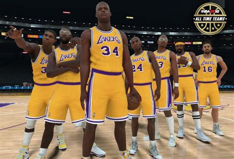 Some Players on the NBA 2K18 All-Time Lakers Team Revealed
