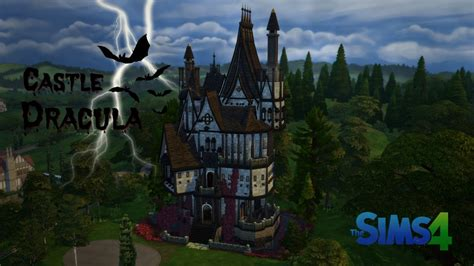 Castle Dracula | The Sims 4 Speed Build - YouTube