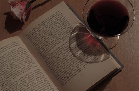 Book, wine and rose | FREE image on LibreShot