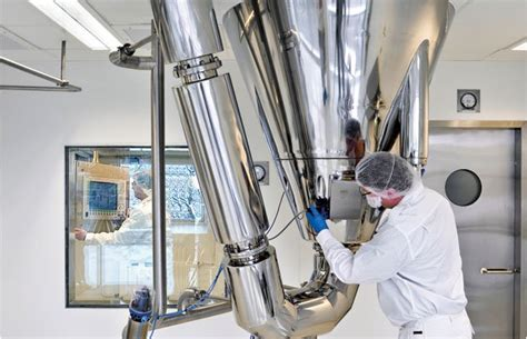 GMP spray drying facility gains approval for commercial