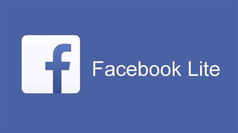 Download and use Facebook Lite - YouTube