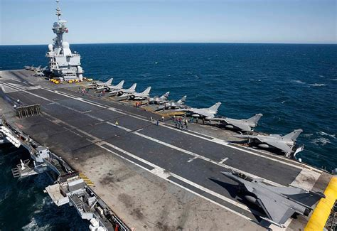Aboard the Charles De Gaulle, aircraft carrier targeting