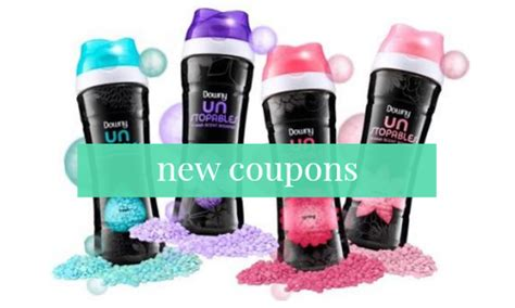 6 New Downy Unstopables Coupons :: Southern Savers