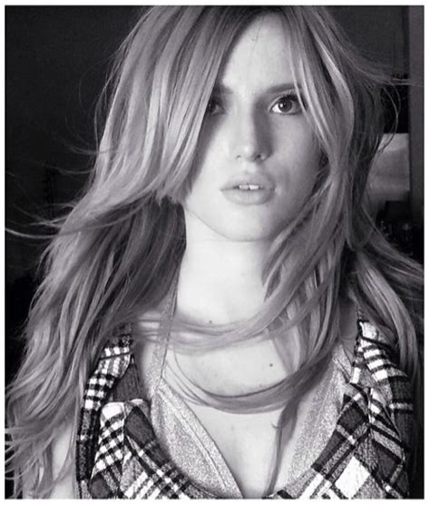 Bella Thorne keeps it classy in black and white