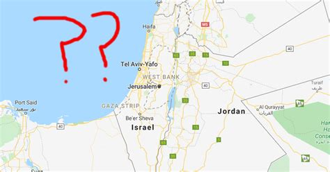 Why Has Palestine Been Removed From Google Maps in 2020