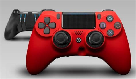 Manette SCUF Impact PS4 - Red - Acheter sur Stealth-Gamer
