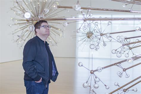 Monumental installation melds art and science at Cantor