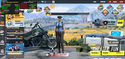 Download cheat for ROS Rules of Survival FTB-G ROS HACK