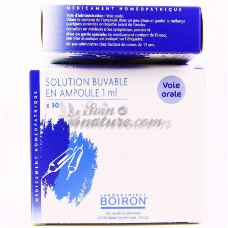 KNEE JOINT 8DH BULBS DRINKABLE Boiron Homeopathic