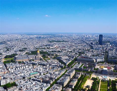 Panorama Of Paris From The Montparnasse Tower