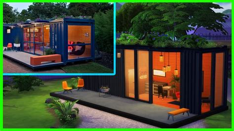 THE SIMS 4 CONVERTED SHIPPING CONTAINER l Speed Build