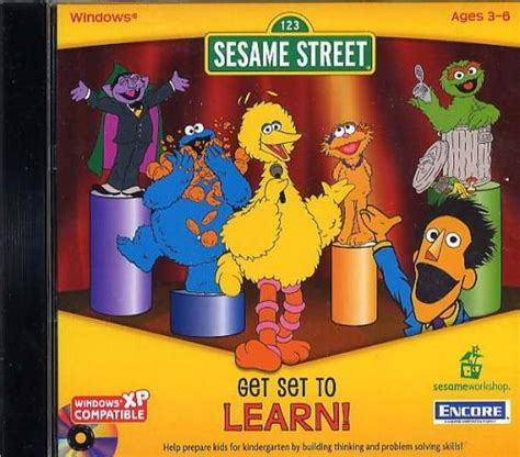 Sesame Street: Get Set to Learn Details - LaunchBox Games