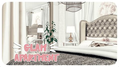 GLAM APARTMENT | The Sims 4 Speed Build | + CC LINKS - YouTube