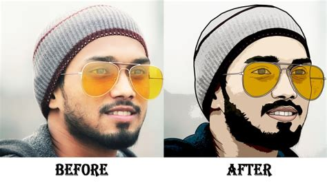 Convert your photo into cartoon effect by Irine_parvin