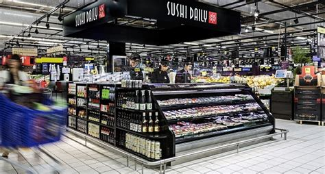 Success-story : Sushi Daily implante ses stands au coeur