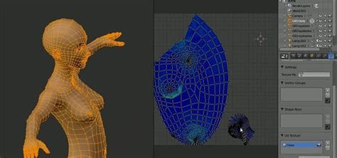 How to UV unwrap a full human body in Blender « Software