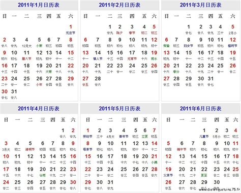 Calendrier chinois 2013