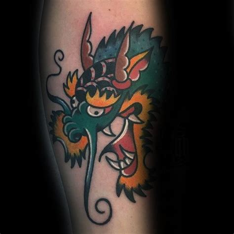 60 Simple Dragon Tattoos For Men - Fire-Breathing Ink Ideas