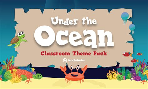 Under the Ocean Classroom Theme Pack Teaching Resource