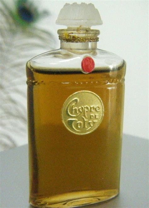 Chypre de Coty   Chypre was first released by Coty in 1917