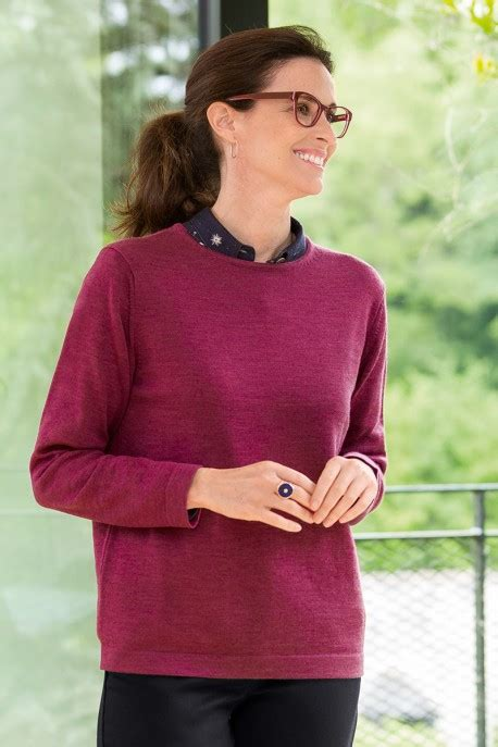 Pull col rond femme - Pull pour Femme - B