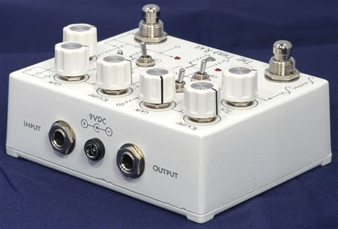 Pédale overdrive / distortion / fuzz Function fx The Third